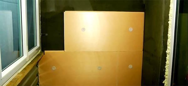 Как утеплить пенополистиролом стены на балконе