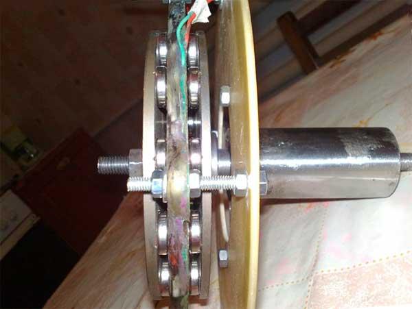 Cамодельный генератор для ветряка