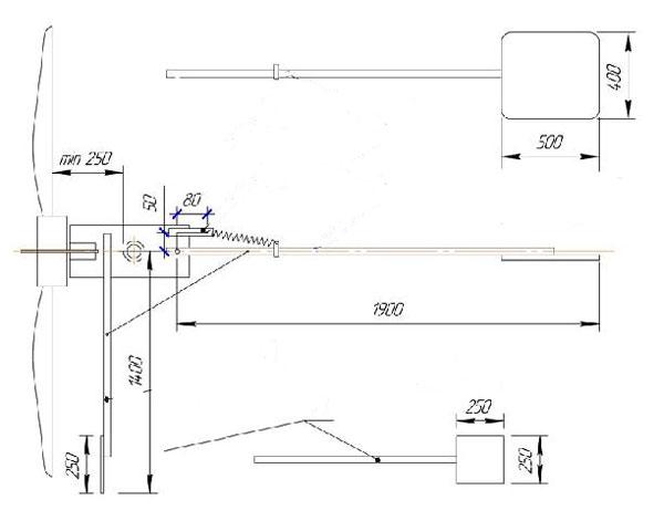 shema-hvosta-vetrogeneratora