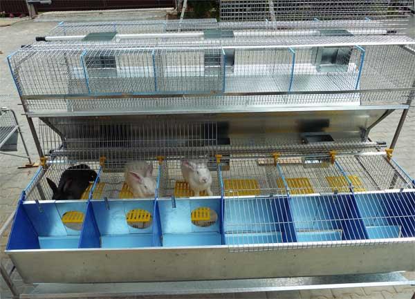 Чертежи клеток из сетки для кроликов Сам Себе Строитель