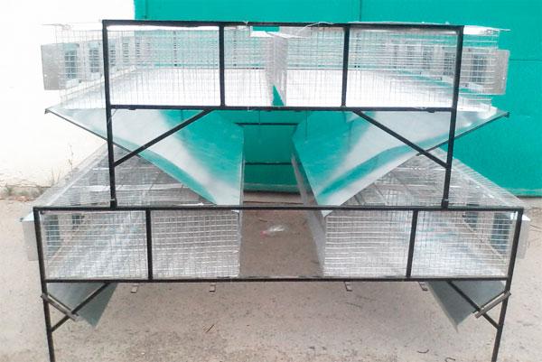 Клетки для кроликов из сетки фото