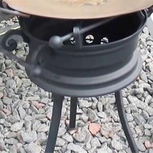 как сделать мангал из дисков