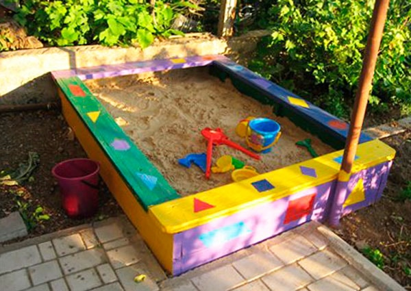 сделать самому песочницу