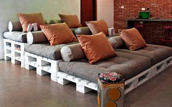 диван лесенка из поддонов