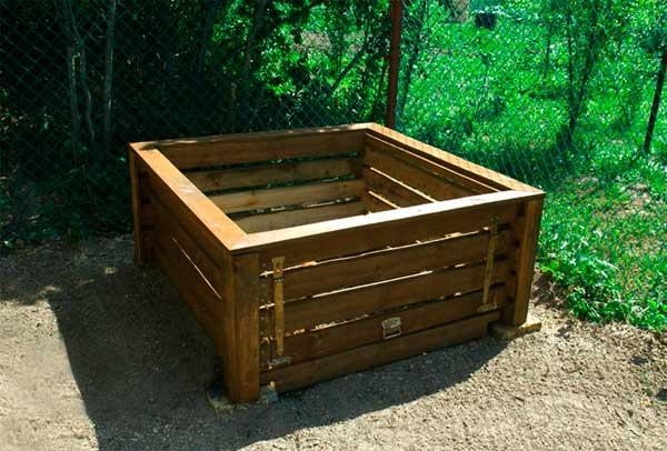 ящик для компоста для дачи