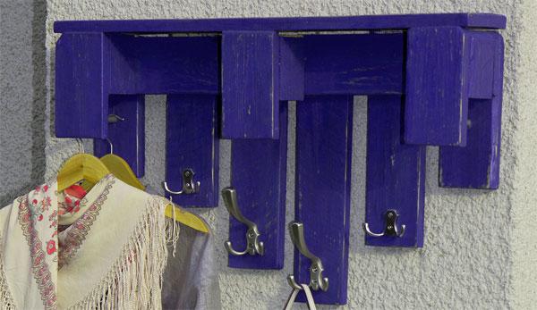 самоделка вешалка для одежды