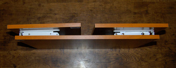 самодельный раскладной столик