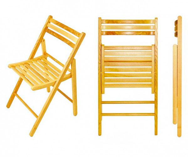 сделать складной стул со спинкой