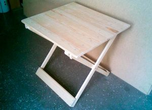 Делаем складной стол