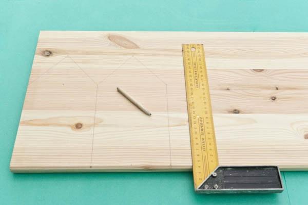 как сделать скворечник из дерева чертежи