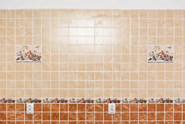 плитки на кухне фартук фото