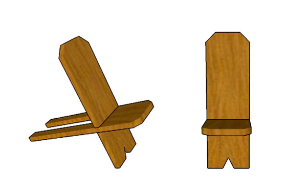 стул со спинкой складной для рыбалки своими рукми