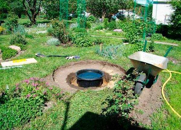фонтан на даче пошаговое изготовление