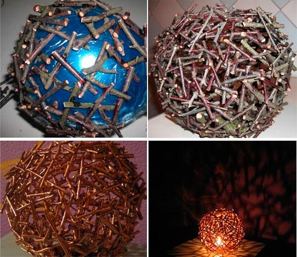 садовый светильник шар