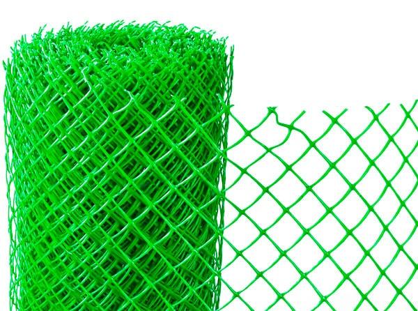 вольер из пластиковой сетки