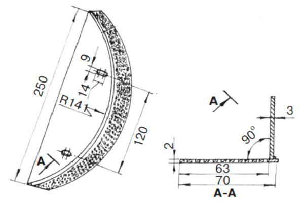 чертежи сетки зернодробилки