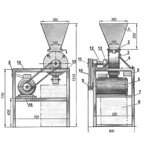 Зернодробилка своими руками, чертежи, как сделать дробилку для зерна для домашнего хозяйства