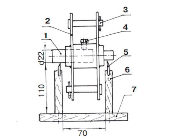 схема балансировки ротора дробилки