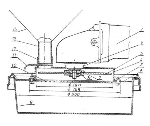 зернодробилка из болгарки чертежи для изготовления