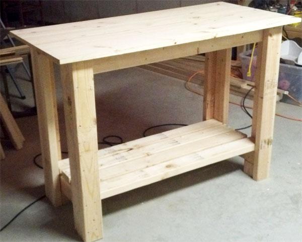 Стол под раковину на дачу