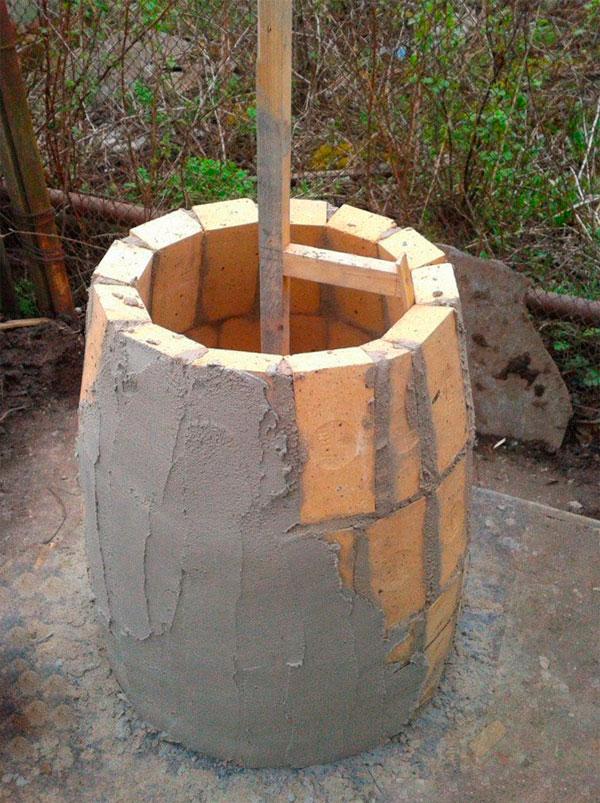 Тандыр из кирпича строим своими руками: фото, видео