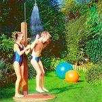 Садовый душ для дачи: чертежи, размеры, фото