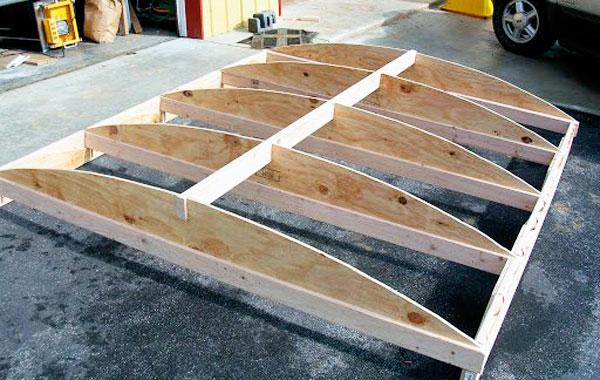 пошаговое изготовление погреба из шлакоблоков