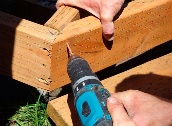 деревянная терраса мастер класс