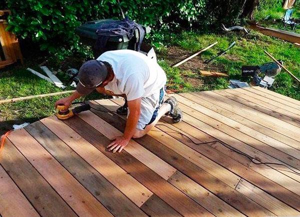 фото деревянной террасы своими руками