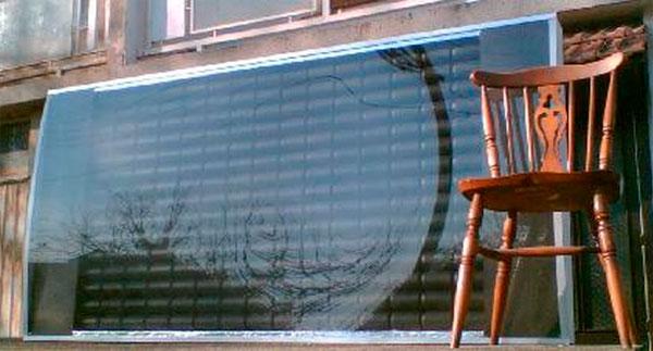 солнечный коллектор из банок чертежи фото