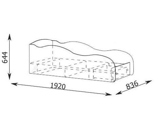 кровать машина своими руками чертежи