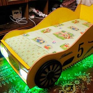 кровать машина фото изготовления
