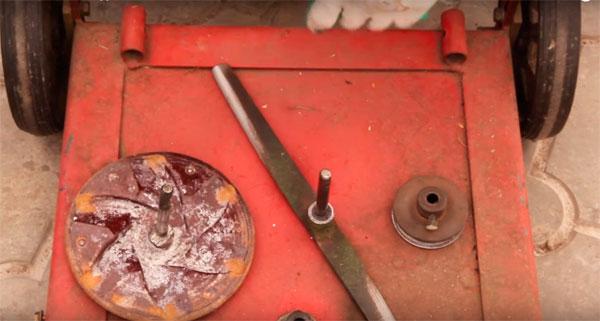 Газонокосилка своими руками из стиральной машины 625