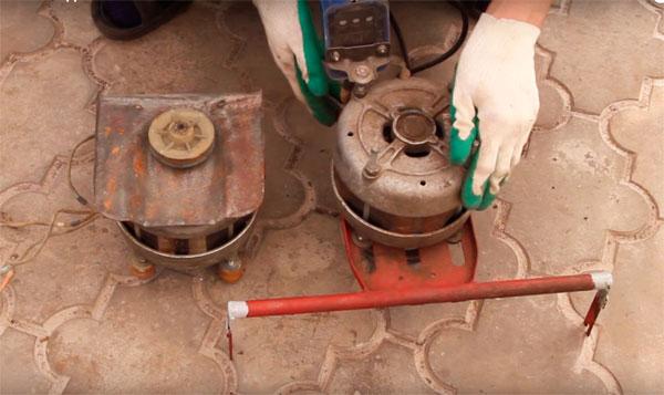 Газонокосилка своими руками из стиральной машины