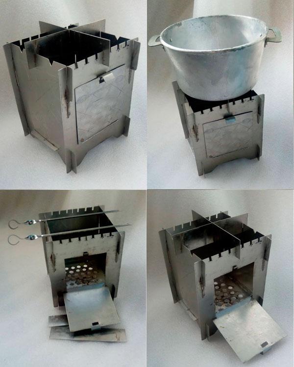 раскладная печь