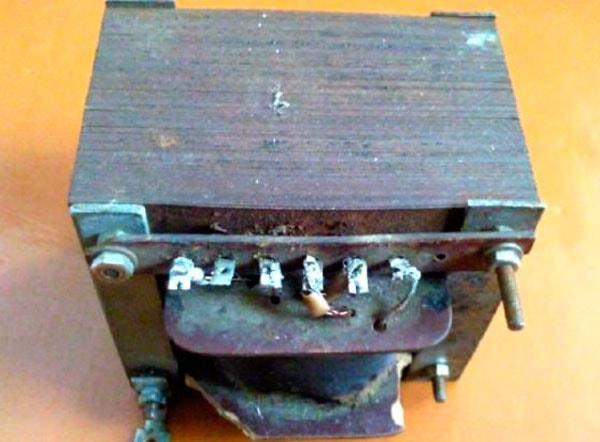 трансформатор для зарядного устройства авто