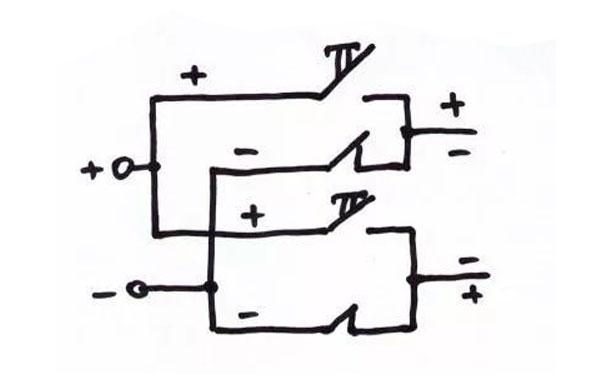 схема реверса для лебёдки