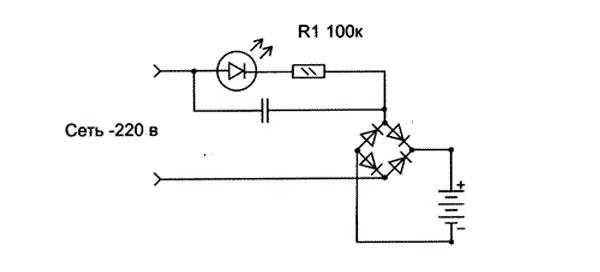 Самодельное зарядное устройство для автомобильного аккумулятора: схема