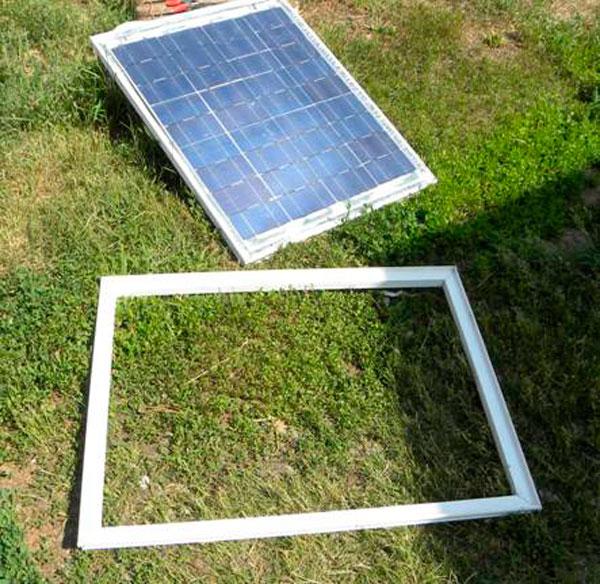 изготовление солнечной батареи