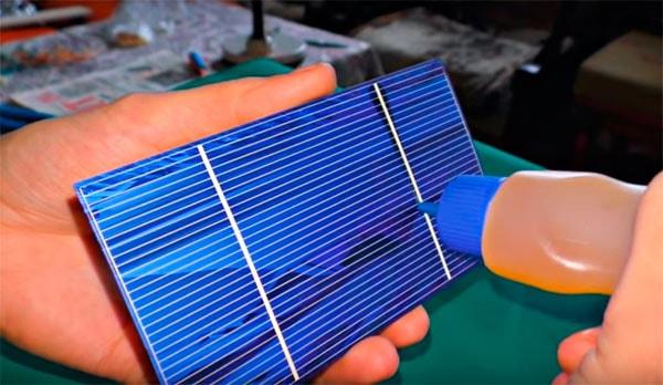 пайка Солнечных элементов