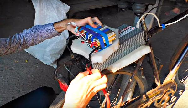 как сделать электровелосипед из болгарки