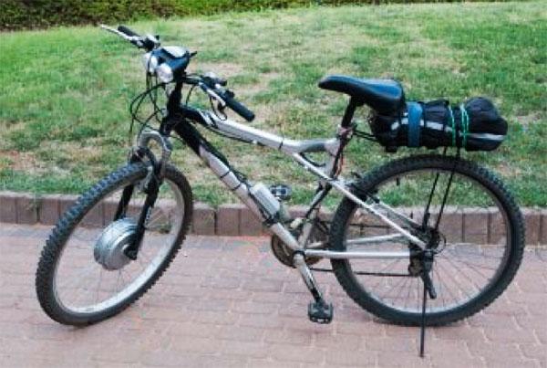 Электровелосипед сделанный своими руками