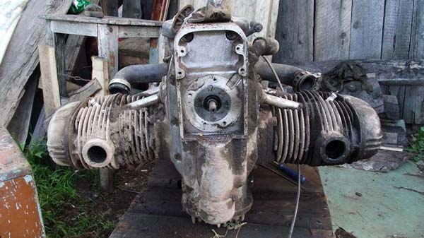 двигатель с мотоцикла Урал