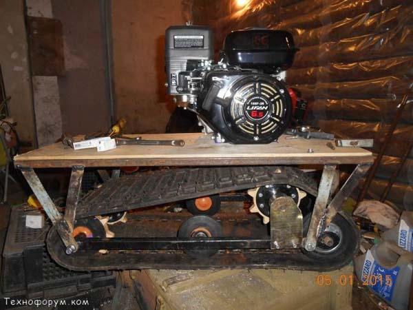 двигатель лифан для мотобуксировщика