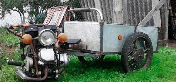 тележка с мотором