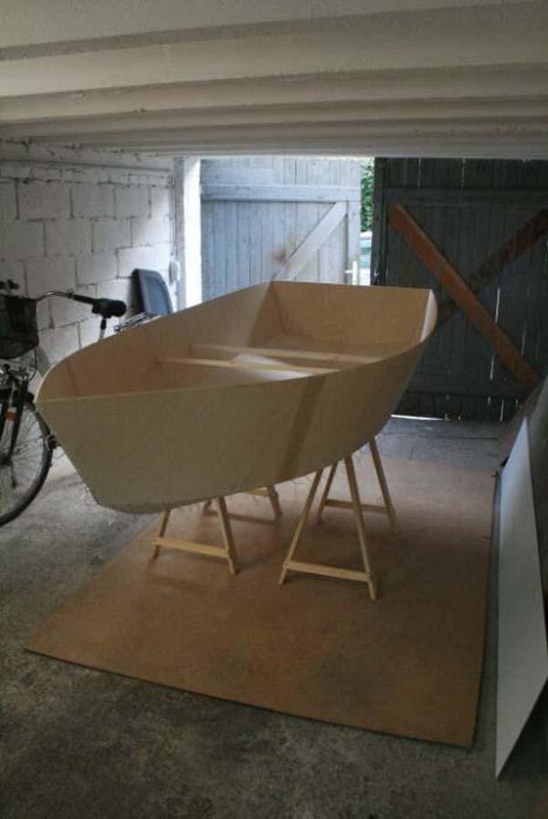 самодельная яхта