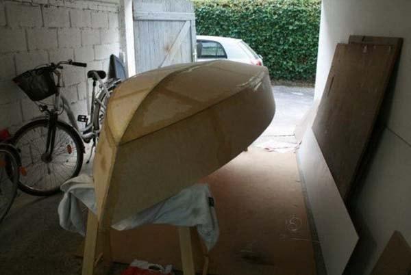 строим парусную яхту