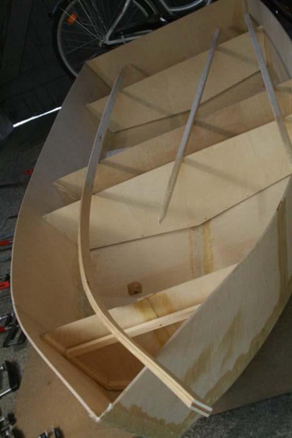 яхта из фанеры своими руками