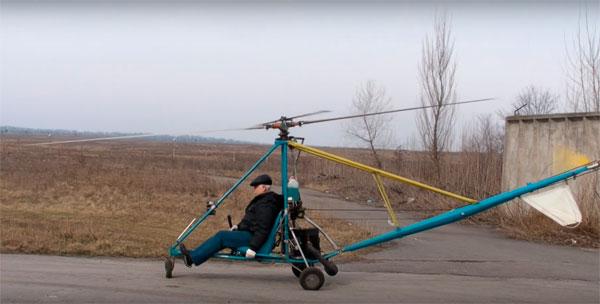 вертолёт сделанный своими руками