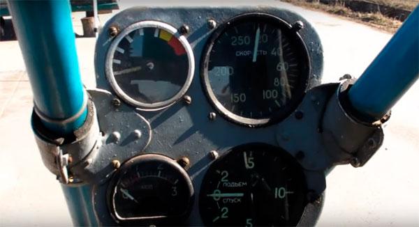 панель приборов летательного аппарата